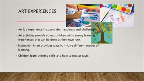 importance of art in preschool importance of creative arts in early childhood classrooms 847