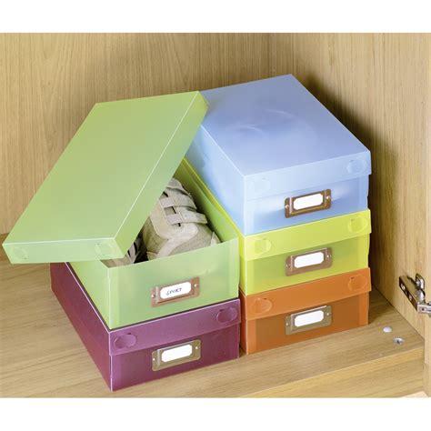 lot de 5 bo 238 tes 224 chaussures multicolores 420525500 achat vente boite de rangement sur