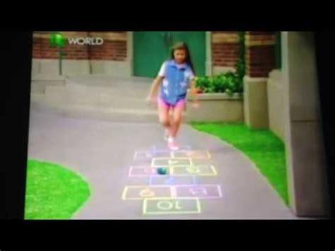 She also enjoys dollhouses and farming. Barney Hannah played hopscotch - YouTube