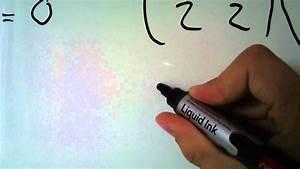 Matrix Kern Berechnen : kern einer matrix youtube ~ Themetempest.com Abrechnung