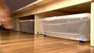 Rangement Sous Le Lit : photo gallery du rangement sous le lit astuce de pro ~ Farleysfitness.com Idées de Décoration