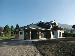 maison ossature bois avec facades en bardage bois et With maison avec bardage bois