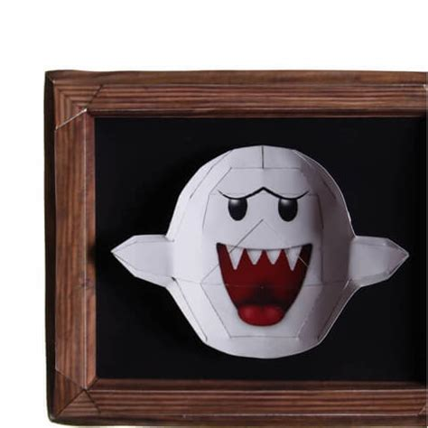 ghost paper craft model  printable papercraft templates