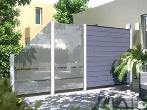 Zaun Aus Glas : system glas und wpc zaunanlage 3 zaun ~ Michelbontemps.com Haus und Dekorationen