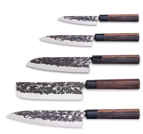 set couteau cuisine set 5 couteaux osaka 3 claveles design japonais