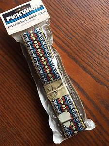 Pickwick Willie Nelson 1970's Vintage Style Guitar Strap ...
