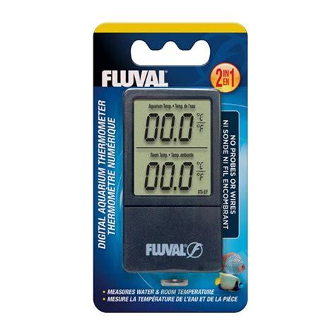 Termometer Digital Aquarium 11193 fluval 2 in 1 digital aquarium thermometer