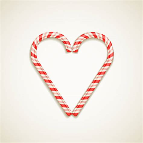 Free transparent candy cane heart vectors and icons in svg format. Candy Cane Heart Illustrations, Royalty-Free Vector ...