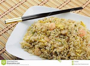 Plate Of Fried Rice Stock Photos - Image: 12669383