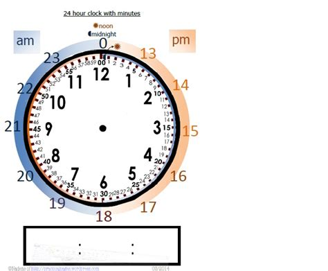 HD wallpapers 24 hr time worksheets