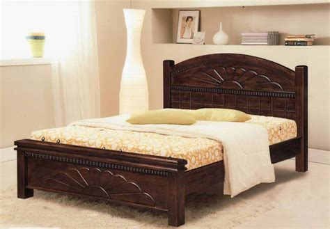 buy wooden double bed  woodage furnishers india id