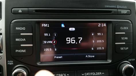 kia sportage lx radio crash youtube