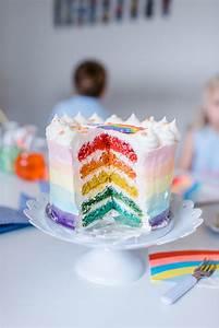 Deko Für Kuchen : kindergeburtstag motto regenbogen ~ Buech-reservation.com Haus und Dekorationen