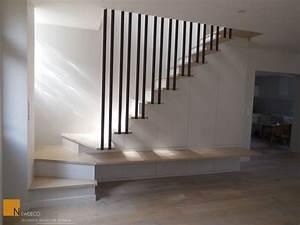 Garde Corps Escalier Interieur : rambarde escalier design cable recherche google id es ~ Dailycaller-alerts.com Idées de Décoration