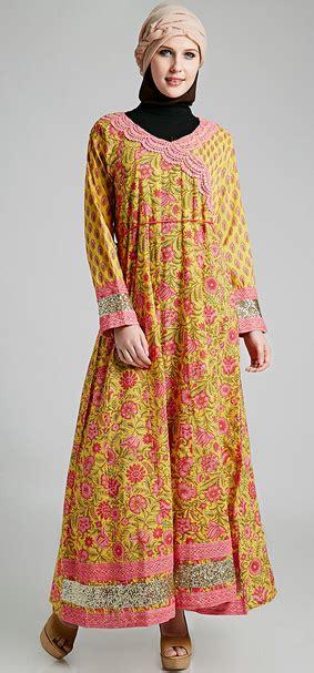 contoh dress muslim  perempuan