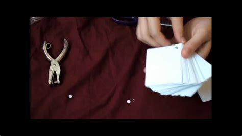 Diy On The Go Studying Flash Cards Youtube