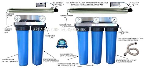 Uv Light Water Filter by Uv Water Treatment Systems Apt Aqua Technologies