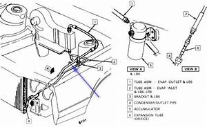 How Do I Find The Valve To Put Air Coolant In A 1995 Buick Century