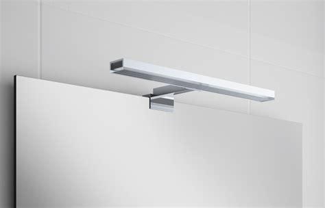 spot led minerva pour miroir salle de bain 28 50 et 80 cm