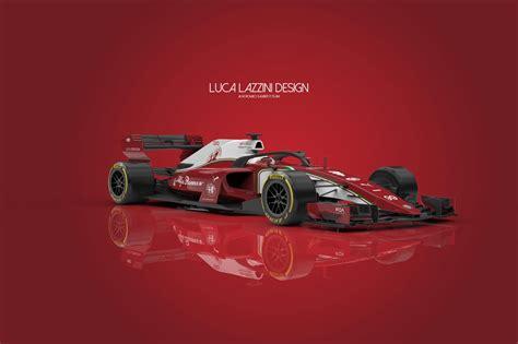 alfa romeo sauber   car concept design