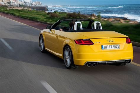 audi tts roadster  review car magazine