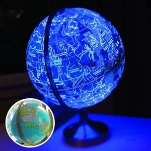 Globe Terrestre Enfant : un globe terrestre lumineux en veilleuse ~ Teatrodelosmanantiales.com Idées de Décoration
