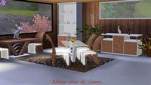 khany sims salles a manger sims 3 sims 3 diningroom With salle a manger sims 4