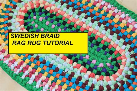 sew braided rug home decor