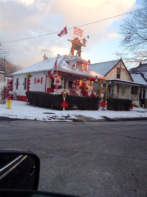 Meet The Man Who Owns Canada's Most Patriotic Home (video