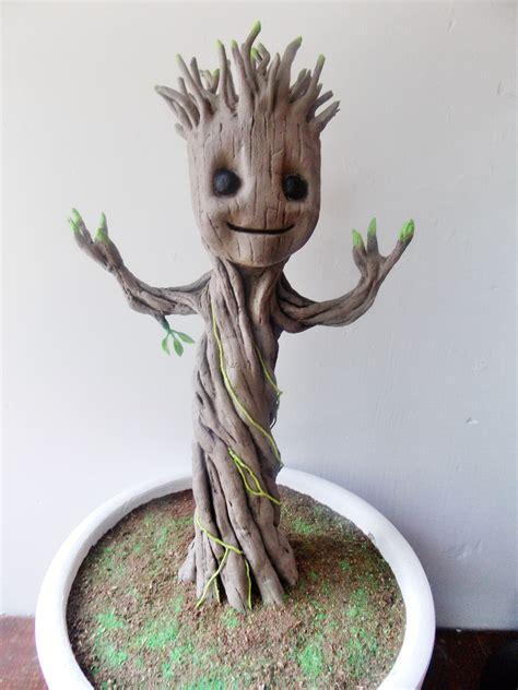 Baby Groot  Pesquisa Google  Art  Pinterest Plantas