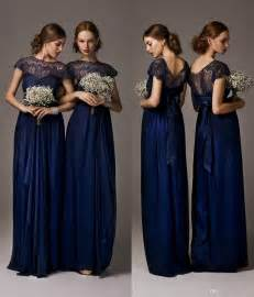 cheap blue bridesmaid dresses maternity bridesmaid dress 2014 cheap navy blue bridesmaid dresses sheer crew neck