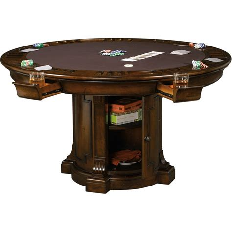round poker table with dining roxbury poker table by howard miller poker table howard