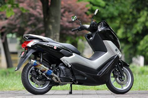 Nmax 2018 Standar by New Exhaust Systems For Yamaha Nmax Webike Moto News