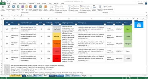 Contingency Operations Plan Template by Contingency Plan Templates Ms Word 9 X Excels