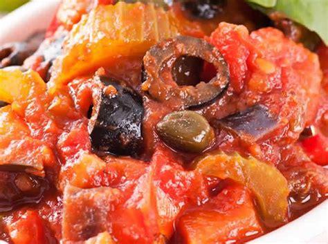 cuisine sicilienne recette caponata sicilienne recette ww blogs de cuisine
