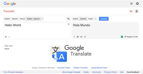easy  google translate big translation