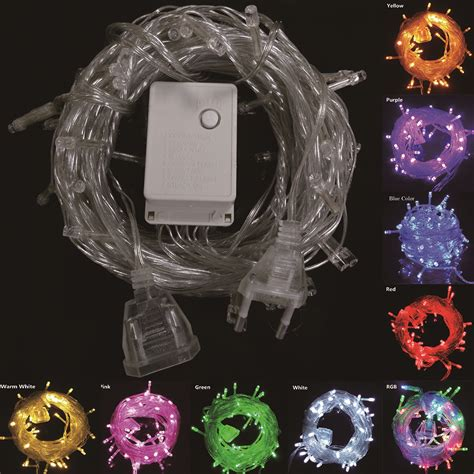 9 colors connectable led christmas lights indoor outdoor
