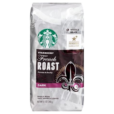 It showcases the precision and skill of our roasters, who created a coffee slightly darker than our espresso roast without the smoky edge of french roast. Starbucks French Roast Dark Roast Whole Bean Coffee - 12oz : Target