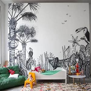 Fresque Murale Papier Peint : papier peint the wild bien fait ~ Melissatoandfro.com Idées de Décoration