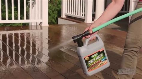 moldex deck fence  house wash youtube