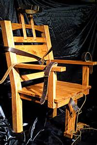 old sparky electric chair replica gothic by