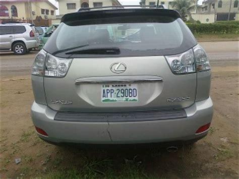 nigerian  lexus rx  model  sale