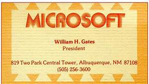 The fascinating business cards of famous people | Business ...