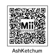 Ash Ketchum Mii   LONG HAIRSTYLES