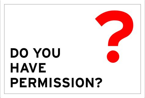 Do You Have Permission?  Borden Communications