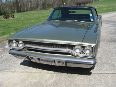 Original Matching Numbers 1970 Plymouth Satellite