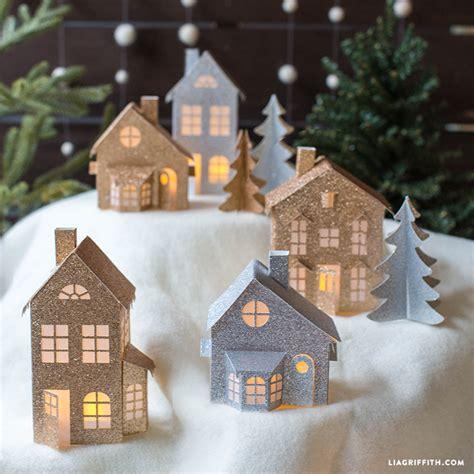 paper christmas village lia griffith