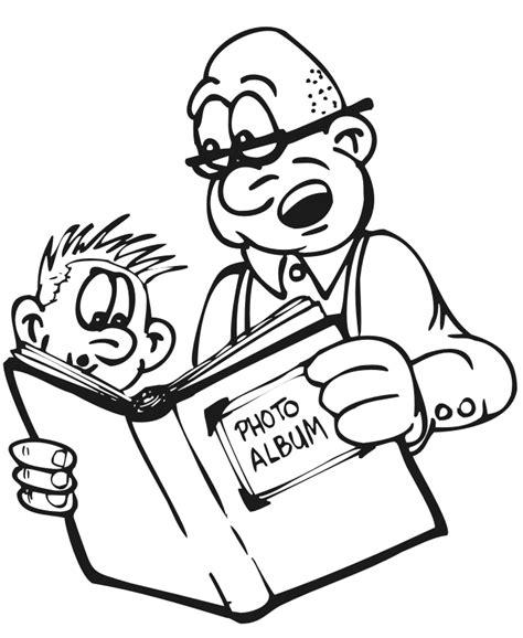 grandpa coloring pages   clip art  clip art  clipart library