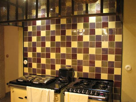 cr馘ence murale cuisine best faience cuisine marron et beige photos design trends 2017 shopmakers us