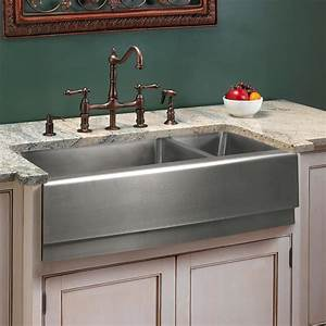 33quot optimum 70 30 offset double bowl stainless steel With 30 inch double bowl farmhouse sink
